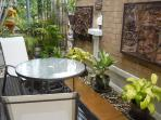COFFEE NOOK PLUS ANOTHER IN BACKYARD AND ALSO AN OUTDOOR SALA FOR COOKING, DINING AND ENTERTAINING