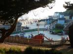 childrens adventure park /water park right on the beach