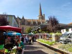 A twice weekly farmer's market is a two minute walk from the house.