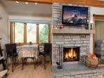 622 Tamarack - fireplace
