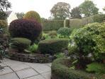 Landscaped secret garden