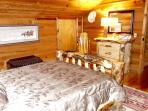 Master w/ Aspen Log Furniture