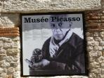 Visit the Musée Picasso. Only 5 min walk from the apartment