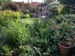 Michaelmas' pretty cottage garden