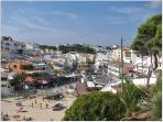 Discover the life in Carvoeiro - beach square (300m from your apartment)