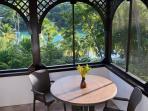 Lower Level Romantic Dining Area