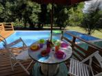 pool side table