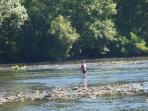 local fishing in the Dordogne