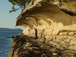 Malaspina Galleries on nearby Gabriola Island, one of our favourite day trips!