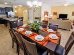 The perfect dining place to enjoy a special family meal together with seating for up to 8 guests