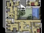 Villa Lamunan - Upper floor