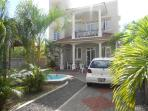 Two three bedroom apartments with private pool and car port