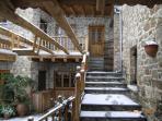 Snowed in entrance