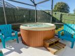 Enjoy the wonderful relaxing Hot tub