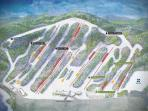 Big Boulder Ski Resort map