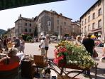 Be sure to visit Eymoutiers and take advantage of the great local businesses...
