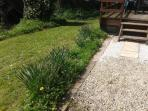 Front path and garden