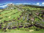 840 acres of Turtle Bay resort. Happy trails to explore!