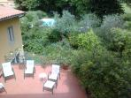 The Girasole's terrace other vieux