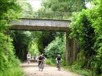 Voie verte : 12km pour piétons et cyclistes entre Mamers et Les Mées