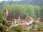 The village of Corgnac Sur L'Isle