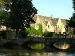 The village of Bourton on the Water
