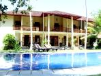 Suhada Villa - poolside view
