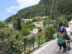 Biking in Agios Markos, a unique experience