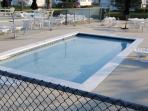 One of two kiddie pools