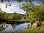 River Wharfe in stunning Dales scenery