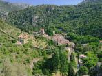 Saint Guilhem le Désert, un des plus beaux villages de France, 30 minutes du gite