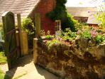 Barn Cottage entrance