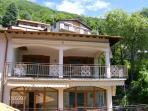 VILLA SLEEPS 8 has 5 bedrooms 3.5 bathrooms,2 kitchens,living rooms,3 balconys free WIFI, parking