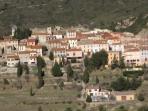 Medieval village of Cucugnan