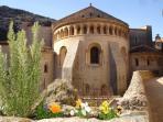 L'abbaye de Gellone, à Saint Gulihem le Désert, fondée en 800