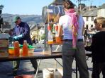 Get involved ithe the annual autumn apple pressing in the centre of Najac
