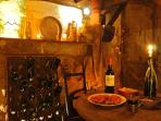 Dinner in the old wine press twice a week