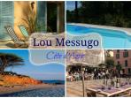 Lou Messugo gîte near beaches and Provencal villages