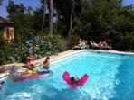 fun in the pool for all ages at Lou Messugo