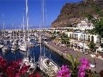 A 10 minute journey to Mogan port and beach with a selection of shops and restaurants.