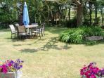 Corbieres private garden
