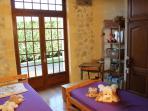 La Chambre 'd'Antan'  avec deux lits 90 cm.