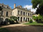 The suite is in the main mansion at La Grande Maison