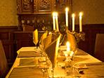 The Dining Room at La Grande Maison