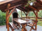 Casa Zollo, southern garden (Casa Vale, Sibiu, Transylvania, Romania)