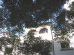 Fachada de la Torre vista desde la calle