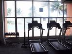 cardio equipment - exercise room