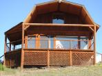 Eagle Nest Cabin- front view