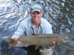 Salmon caught in the Salmon River