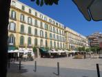 Nearby bars and restaurants in Plaza de la Merced